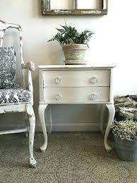 distressed white table. French Country Accent Table Small Two Drawer Nightstand Bedside End Distressed White Tables Off Coffee . Dining