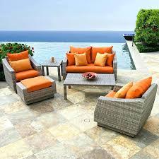 orange patio cushions orange patio furniture lovable sets cast aluminum outdoor chairs custom patio cushions orange orange patio