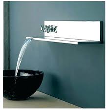 waterfall bathtub faucet charming bathroom chrome polished wall mount and shower with design 8