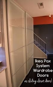 installing ikea pax doors as sliding closet doors ikea hack super nova wife