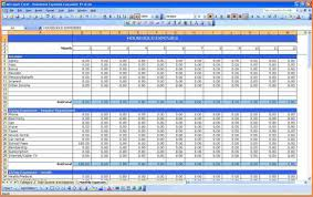 expenses report excel excel expenses report template business