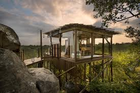 Tree House Hotel In South Africa Lion Sands Kingston Treehouse Treehouse Hotel Africa