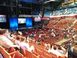 Mohegan Sun Arena Section 23 Concert Seating Rateyourseats Com