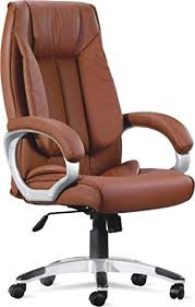 amazon chairs office. Captivating Brown Office Chairs On Adiko High Back Chair Amazon In Home Kitchen