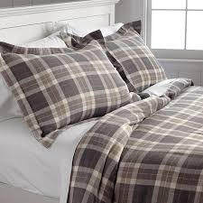 woodland plaid flannel duvet cover woodland plaid flannel duvet cover orvis