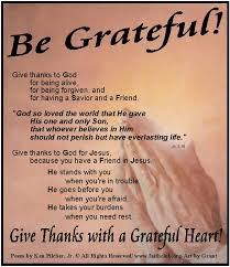 Christian Thankful Quotes Best Of Be Grateful Christian PoemAlways Have GratitudeThankful To God