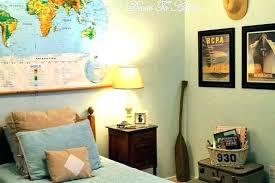 travel themed wall decor living room creative home interior