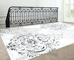 gray and white rug. Gray White Rug And Area Elegant Living Grey Reviews