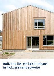 Individuelles Einfamilienhaus In Holzrahmenbauweise