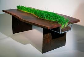 nature inspired furniture. Nature Inspired Furniture Creative Wood In Design Bloom Coffee Emily Wettstein Planter Table Home Decor Wooden Ideas Green Pictures F