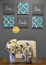 teal gray wall art. eat drink \u0026 be merry wall art pack of 6 canvas by goldenpaisley teal gray c