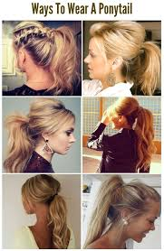 Fitness And Hair Styles 6 Adorable Ways To Wear A Ponytail účes