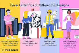 cover letter exles listed by type of job
