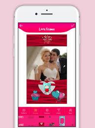 cute love photo frame app drops