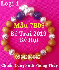 Vòng Dâu Tằm Bé Trai 2019 con HEO BẠC 999