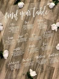 Wedding Seating Chart Acrylic 9 Acrylic Seating Chart Templates Psd Ai Free