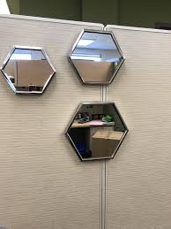 cubicle mirror. Delighful Cubicle Easy Way To Jazz Up Your Cubicle At Work  HANG MIRRORS You Can Buy And Cubicle Mirror D