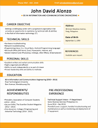 12 Fresh How Do I Create A Resume Resume Format