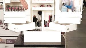lori greiner deluxe cosmetic organizer box image 6 from the video