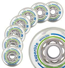Inline Wheels Hardness Chart Amazon Com Inline Fitness Skate Wheels Hyper Superlite 8