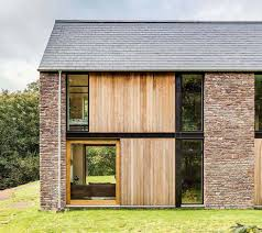 Steel Framed Houses A Barn Style Stone Home Homebuilding Renovating