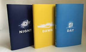 new renderings of the night trilogy by elie wiesel book cover of what do these aesthetics contribute to the books they cover or does an artistic element somehow detract from the work as wiesel intended