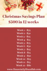Christmas Savings Plan Chart 12 Money Challenges To Help You Save More Money 2019 Edition