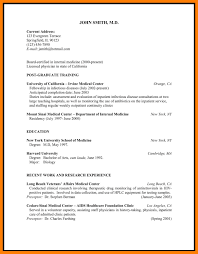 7 Physician Cv Template Mla Cover Page