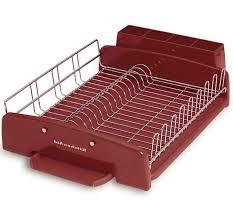 kitchens kitchenaid dish drying rack stainless steel kitchenaid 3 piece dish drying rack kitchenaid dish rack red