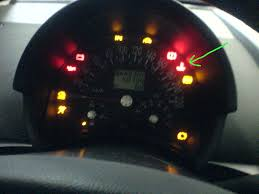 what does dash warning light waves and