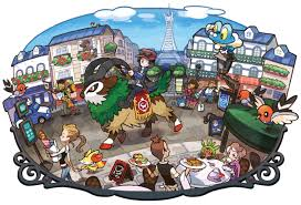 Pokemon Kalos Evolution Chart Pokemon X Y Kalos Lumoise City Labyrinth75 Photo