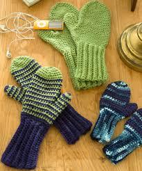 Free Crochet Mitten Patterns Amazing Red Heart Crochet Mittens The Crochet Crowd