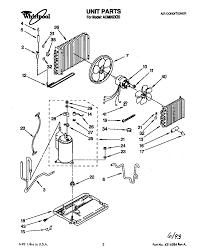 Window air conditioner parts diagram unit list for model acm 062 window air conditioner parts diagram