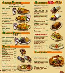 mexican food menu. Beautiful Food Sombrero Mexican Food El Cajon Menu In Food Zomato