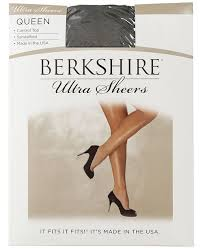 Berkshire Size Chart Womens Plus Size Ultra Sheer Control Top Pantyhose 4411