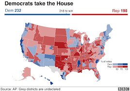 Us Mid Term Election Results 2018 Maps Charts And Analysis