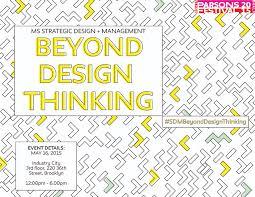 Parsons Ms Strategic Design And Management Beyond Design Thinking Ms Strategic Design Management