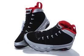jordan shoes 9. nike air jordan 9 shoes men\\\u0027s new style black silver red n