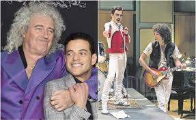 Brian May asks for the Oscar for Rami Malek, Freddie Mercury in ...