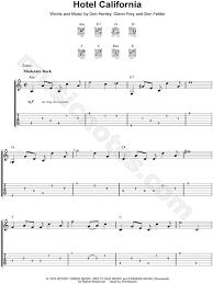 Hotel california digital guitar tab. The Eagles Hotel California Guitar Tab In A Minor Download Print Sku Mn0101767