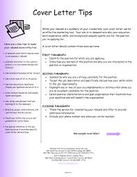 Cover Letter And Resume Examples Jospar