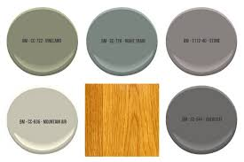paint to complement honey oak cabinets all colors shown are by benjamin moore