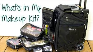 what s in my makeup kit featuring the zuca pro artist case