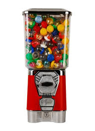 Coin Operated Candy Vending Machine Unique Candy Vending Machine Gumball Machine Toy Capsule Bouncing Ball