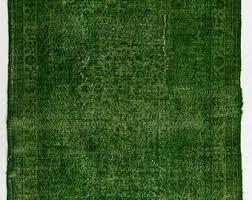 A Green Overdyed Rug 5u00273