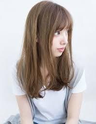 透明感のあるルーズセミロングih 111 ヘアカタログ髪型ヘア