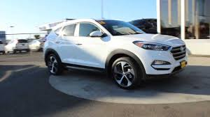 2016 Hyundai Tucson Limited | Winter White GU040869 Skagit County Mt  Vernon - YouTube
