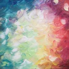creative abstract texture flower petal decoration pattern color artistic paint colorful modern circle painting art design