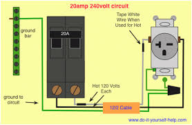 house wiring 20 amp circuit readingrat net Ground Fault Breaker Wiring Diagram circuit breaker wiring diagrams do it yourself help,house wiring, ground fault circuit breaker wiring diagram