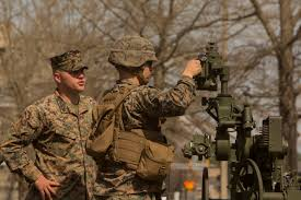 Marine Gunners File 10th Marine Regiment Conducts Artillery Assistant Gunners And